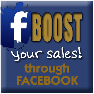 Boost your sales through FACEBOOK!